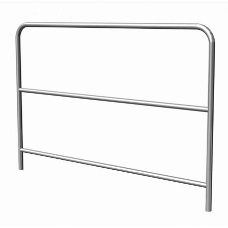 SBA 05C -aluminium handrail 2m