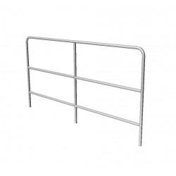SBA 07 - aluminium handrail 8ft