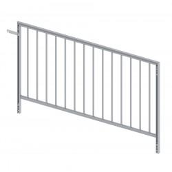 SBA 16 - heavy duty aluminium handrail 2m