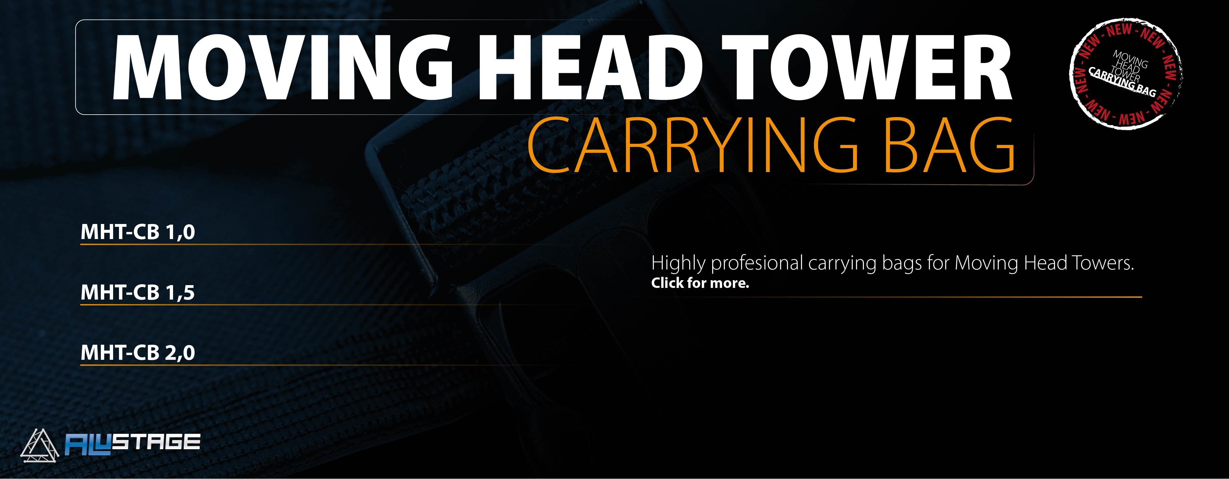 New Carrying Bags for Moving Head Tower