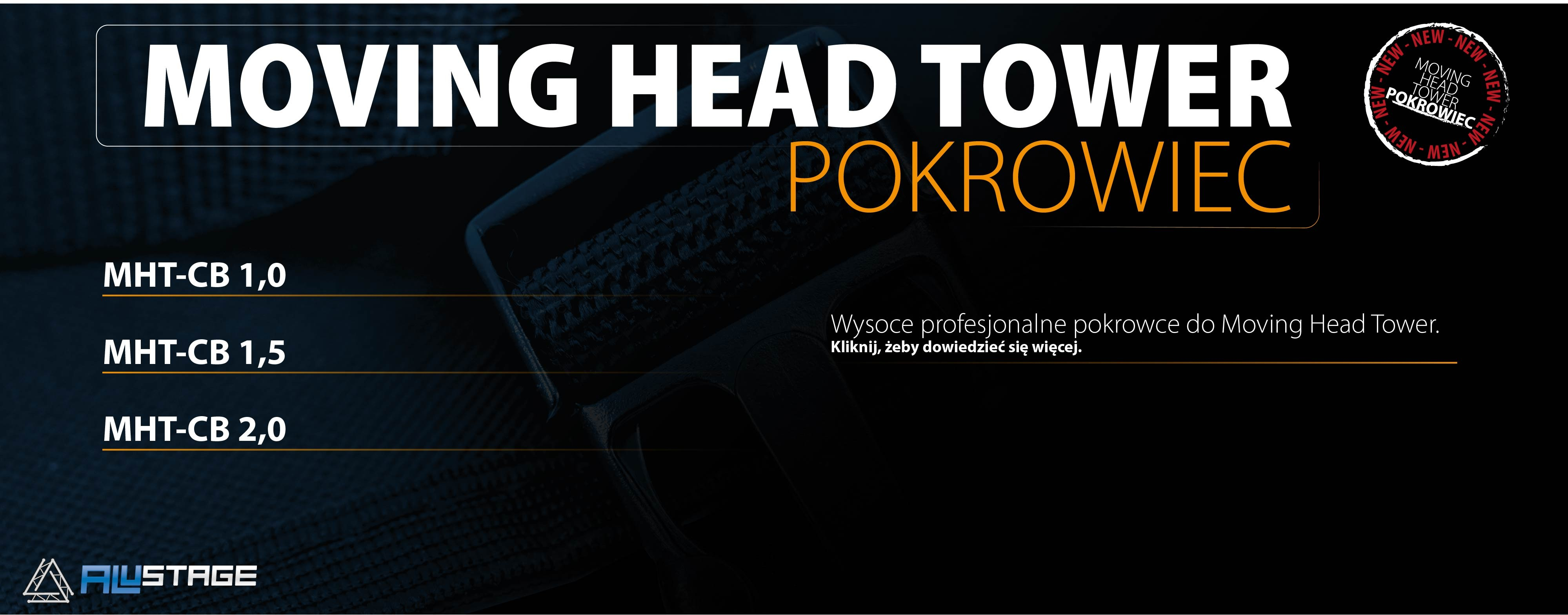 Nowe pokrowce do Moving Head Tower