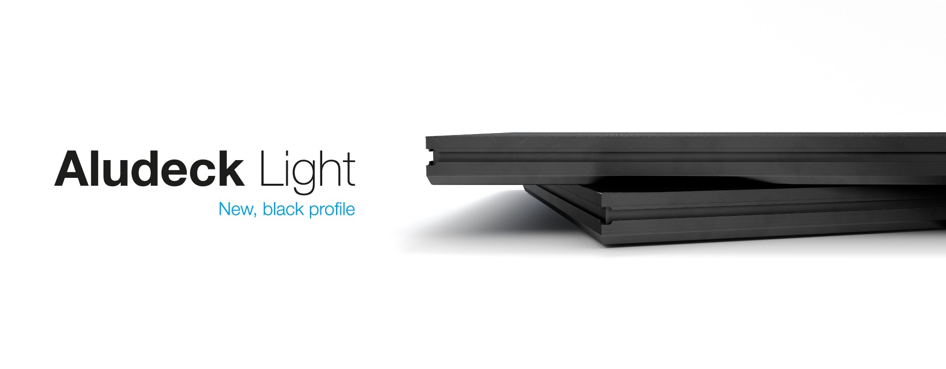 Aludeck Light - black profile
